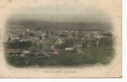 Vailly Sur Aisne Vue Generale Colorisée  Ch Blanchet Timbrée 1904 - France