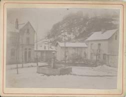 Photo Avant 1900 - Environs De Grenoble - Village Sous La Neige - Fotos
