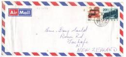 TZ1437 - CINA , Lettera Viaggiata  Per La Nuova Zelanda - 1949 - ... Repubblica Popolare