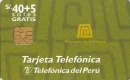 PERU / PER - TP 024 - Pérou
