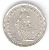 SVIZZERA 1/2 FRANCO 1957 AG - Suiza