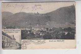 5300 BONN - BAD GODESBERG - MEHLEM, Gasthaus Zur Rheinblüthe V. Engelbert Wald - Bonn