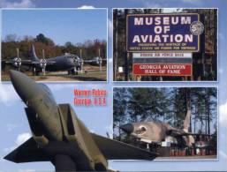 (246)  Military Plane - Warplane - Avions Militaire - Museum Of Aviation, Georgia - Flugzeuge