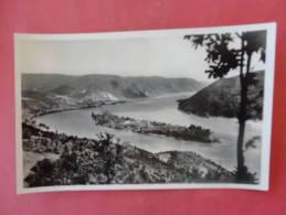 Rppc- Romania  The Danube At Orsova Not Mailed --- ---------- Ref 886 - Rumänien