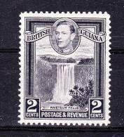 BRITISH GUYANA    1938/45,      Def´s Set , 2 C   ,  Y&T   # 163  , Cv  0,30  E . * M L H , V V  F - Guyana Britannica (...-1966)