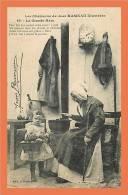 Les Chansons De JEAN RAMEAU Illustrées - N° 49 - La Grand Mere // CPA Animée ( Femme &amp Amp Amp  Enfant Fillette ) - Personajes