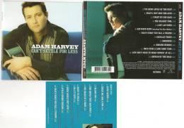 Adam Harvey - Can't Settle For Less - CD + Bonus DVD - Original - Country & Folk