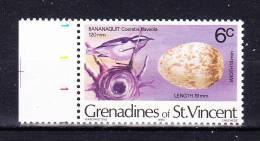 ST.VINCENT& GRENADINES 1978 ,   Fauna- Birds    , 6 C  ,  Y&T   # 127   , Cv 0,15  E . ** M N H , V V  F - St.Vincent E Grenadine