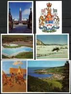 Timbre Tintin   ---   Géographie Canada  --  80 Chromos / Vignettes En 8 Enveloppes - Chromos