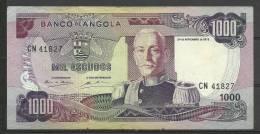 ANGOLA - BILLETE ESTADO   MUY BUENA CONSERVACIÓN PLANCHA. - Angola