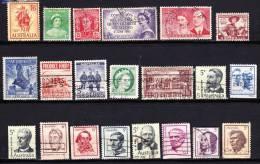 AUSTRALIE  PETIT LOT OBLIT. TB - Collections