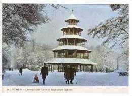 München , Chinesischer Turm Im Englischen Garten - München