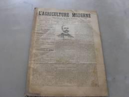 L´Agriculture  Moderne    N° 96  31 Octobre 1897 - Livres, BD, Revues
