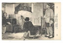 Canton (Chine) : Prière Au Bouddha Malade  Illustration En 1920 (animé). - China