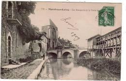 MORET-SUR-LOING/77/Les Remparts /Réf:1206 - Moret Sur Loing