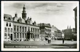 CP   Roermond   ---   Marktplein Met Stadhuis  --  1964 - Roermond