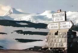 D  .73 Savoie Les Champs De Neige De L´albaron Vuus Depuis Le Colde L´iseran - Francia