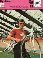 CYCLISME  ***  XAVIER KURMANN 1968  *** RECORDS DU MONDE - Ciclismo