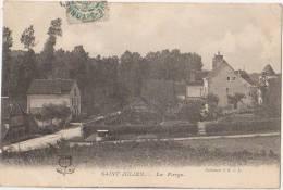 CPA 89 SAINT JULIEN DU SAULT La Forge 1906 - Saint Julien Du Sault