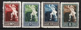 LETTONIA LATVIJA - 1919 YT 39/42 * CPL - Latvia