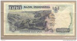 Indonesia - Banconota Circolata Da 1000 Rupie - 1995 - Indonesia