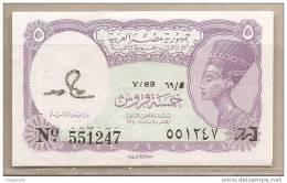 Egitto - Banconota Non Circolata Da 5 Piastre - Egypt