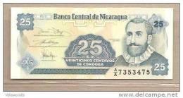 Nicaragua - Banconota Non Circolata FdS Da 25 Centesimi P-170a.1 - 1991 - Nicaragua