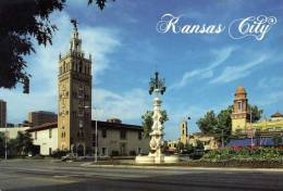 Etats-Unis: Kansas City, The Giralda Tower, Voyagée Avec Timbre Au Verso. - Kansas City – Kansas