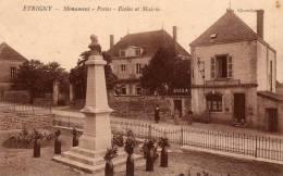 § PROMO § 71 - ETRIGNY Monument Postes Ecoles Et Mairie Animée écrite - Frankreich