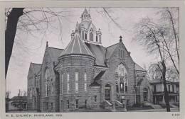Indiana Portland M E Church