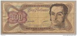 Venezuela - Banconota Circolata Da 100 Bolivares P-66g - 1998 - Venezuela