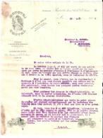 """Courrier Technique Illustré 1907 Signé Contal """"MOTOTRI CONTAL"""" Triporteurs Levallois-Perret Neuilly Paris - France"""