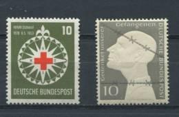 Germany 1953 Sc 694,696 Mi 164-5  MNH CV $36.00 - [7] Federal Republic