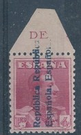 ESNE26-L990B.Espagne .NO EXPENDIDO.Spain.ALFONSO Xlll.1931.(Ed  NE.26**).sin Charnela..LUJO.       O. - 1931-50 Nuevos & Fijasellos