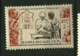 AOF Afrique   N° 45 Neuf  **  Luxe  Cote Y & T  12,00  Euro Au Quart De Cote