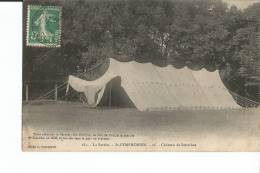 St-SYMPHORIEN. Chàteau De Sourches - Tente - France