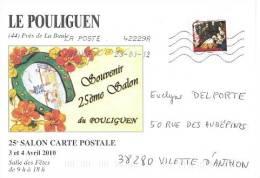 France 2010 - Le Pouliguen (44, Près La Baule) Illustration Carte Postale Souvenir - France