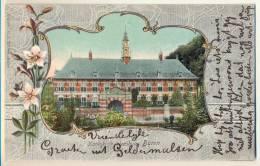 3pk890:KONINKLIJK WEESHUIS BUREN > ZALTBOMMEL Uitg.D.J.Thijsen , BUREN: N° 55: GELDERMALSEN -STn: Klein Rond Met 4-uur V - Lettres & Documents