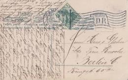DR Karte EF Minr.70 Flaggenstempel Hamburg 20.12.06 - Deutschland