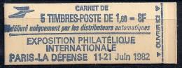 France- Carnet 2155-C1 (ouvert) Avec N° - Carnets