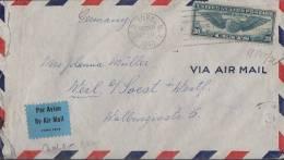 USA Luftpostbrief Gel. Von New York Am 20.10.40 Nach Deutschland Zensur Ansehen !!!!!!!!!! - Vereinigte Staaten