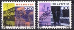 Zu 1020-1021 / Mi 1751-1752 / YT 1676-1677 Obl. 1er Jour Demi-lune BERN 1 SCHANZENPOST - Used Stamps