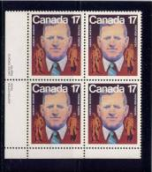 CANADA, 1981. # 899.   AAROM MOSHER AND WORKERS, LEADING FOUNDER OF CANADIAN LABOUR CONGRESS   MNH - Blocs-feuillets