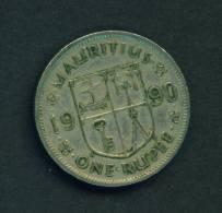 MAURITIUS - 1990 1r Circ. - Mauritius