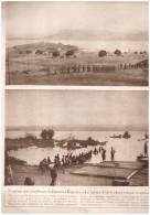 Guerre 14-18 L Entree Des Belges Armée Belge à KIGOMA  LAC TANGANYIKA  TANZANIE - Vieux Papiers