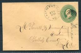 USA East Newmarket 3 Cent Stationery Cover
