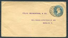 USA New York - Felix Weisenthal & Co Berlin Germany Stationery Cover - 1921-40