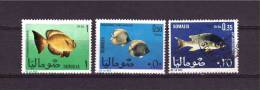 SOMALI REPUBLIC 1967 Fishes Yvert Cat. N° 76/78  Mint And Used - Fishes