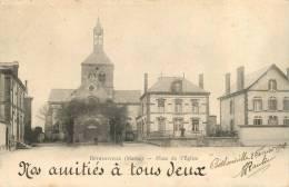 51 BETHENIVILLE PLACE DE L'EGLISE 1902 - Bétheniville