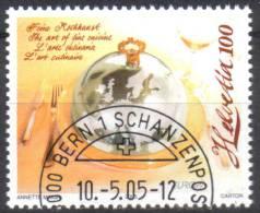 Zu 1162 / Mi 1927 / YT 1848 EUROPA 2005 Obl. 1er Jour Demi-lune BERN 1 SCHANZENPOST - Switzerland